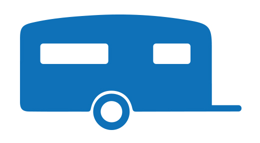 Icon eines Wohnwagens